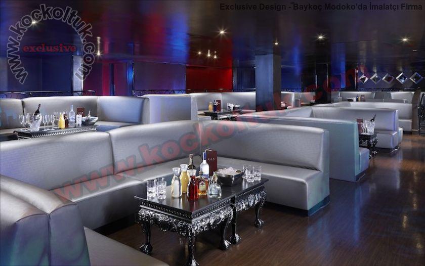 Lüx Restoran Klüp Özel Mekanlar İçin Sedir Koltuk Takımları