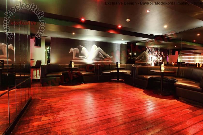 Otel Kafe Kulüpler İçin Özel Koltuk Ve Sedir Uygulamaları