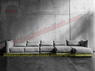 Modern İtalyan Tasarım Köşe Koltuk Takımları