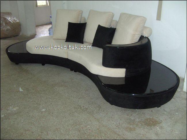 Midye modern koltuk