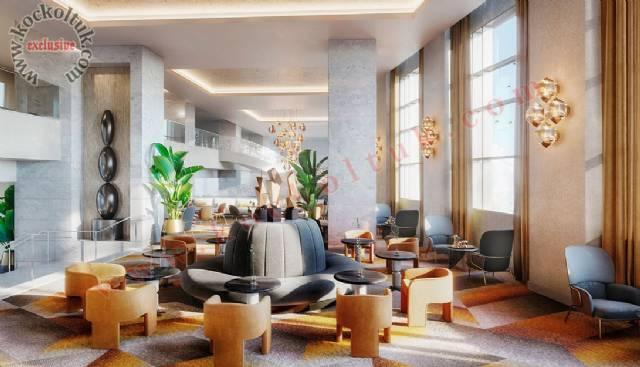 Oteller İçin Klasik Koltuk Tasarımları Cafe, Lobi Ve Odalara Özel Lüks Otel Koltukları