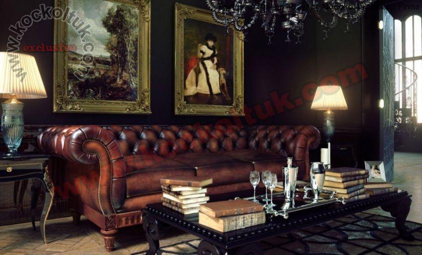 Lale Kol Tasarımlı İngiliz Klasik Chester Koltuk Modeli