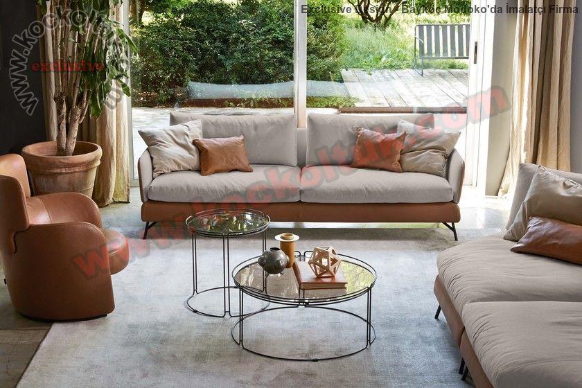 Luxury Koltuk Takımı Modern Tasarım Zengin Renk Seçenekleri Özel Üretim