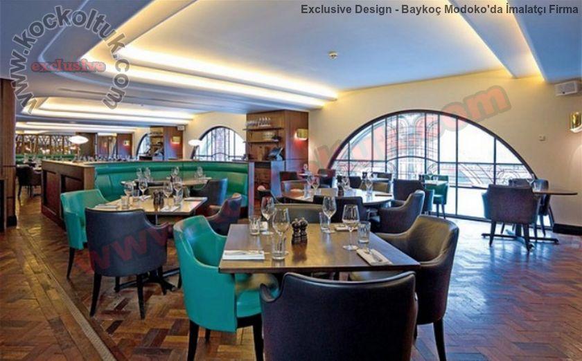 Modern Lüks Restoran Tasarımları Mobilya Ve Koltuk Üretimi