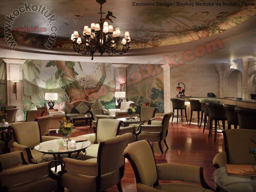 Otel Koltuk Mobilya Üretimi Restoran Tasarımı