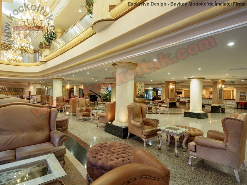 Otel Lobi Tasarımları Koltuk Mobilya Üretimi Ve Tadilat İşleri