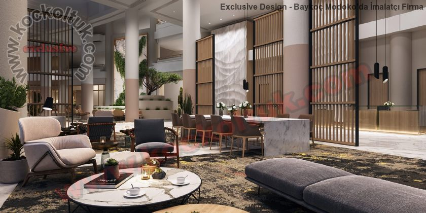 Otel Loby Koltuk Ve Mobilya Üretimi Lüks Tasarımlar