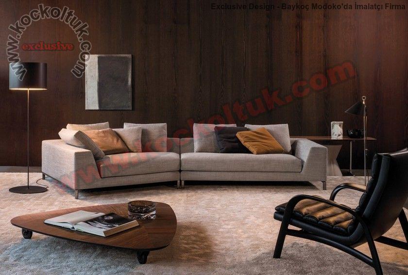 Rahat Gösterişli Koltuk Kanepe Modeli Modern Lüks Tasarım Ev Dekorasyonu