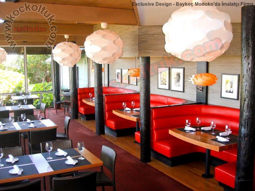 Restoran Sedirleri Masa Sandalyeler Özel Tasarım Üretim