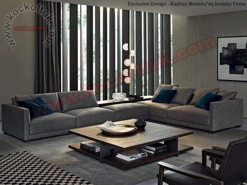 Soft Ve Konfor Tasarım Modern L Köşe Koltuk Takımı