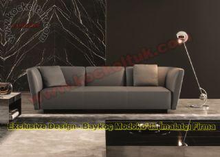 Deri Luxury Ofis Kanepe Modern Koltuk Takımı Kanepe Modelleri