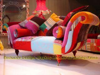 Patchwork Koltuk Takımları Dekoratif Koltuklar