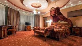 Lüks Otel Tasarımı Kral Yatak Odası