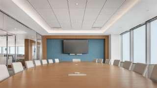 Ofis Tarzı Modern Toplantı Salonu