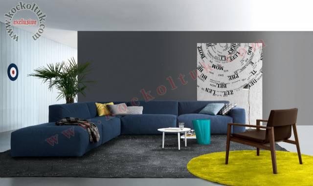 Dekoratif Konforlu Salon Köşe Koltuk Modelleri