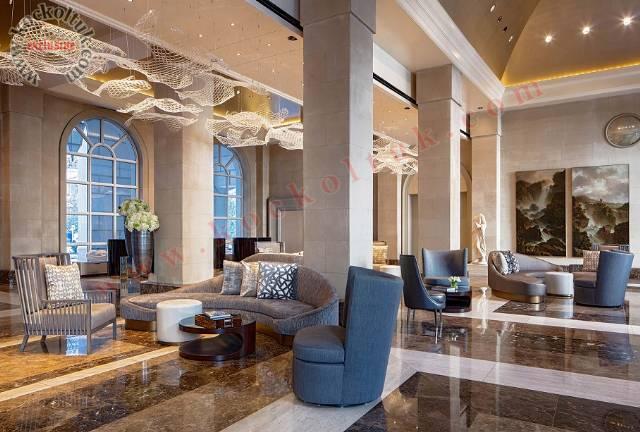 Lüks Otel Lobby Koltuk Mobilya Aksesuar Tasarımı