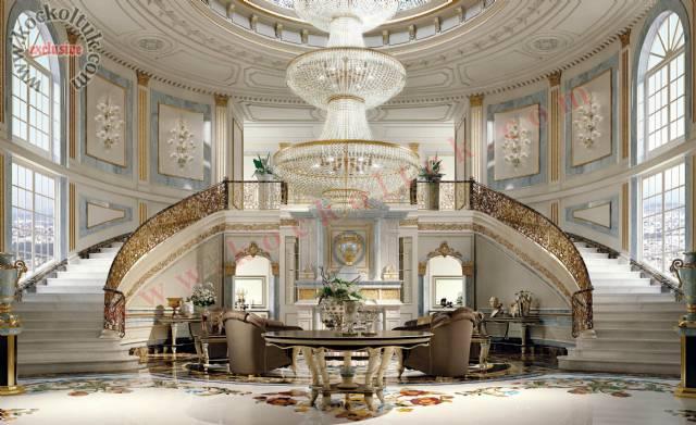 Lüks Otel Lobi Tasarımı Lüks Otel Tasarımı