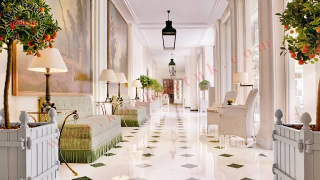 Lüks Otel Tasarımı Hol Lobby Koltuk Mobilya Aksesuarlar