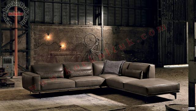 Luxruy Modern Living Room Sectional Corner Sofa