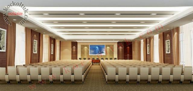Modern Lüks Konferans Salonu Tasarımı