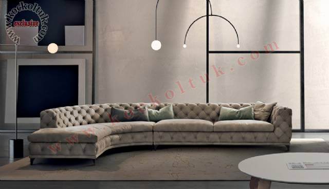 Modern Luxury Chester Köşe Koltuk Takımı
