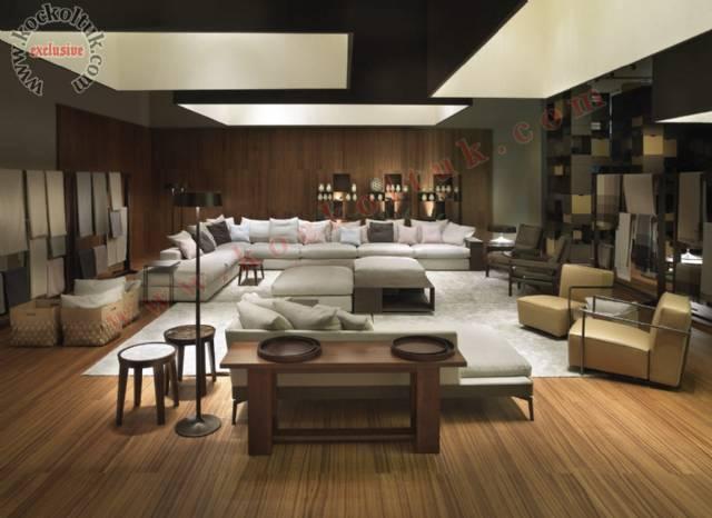 Modern Luxury Salon Tasarımı Özel Ölçü Köşe Takımı