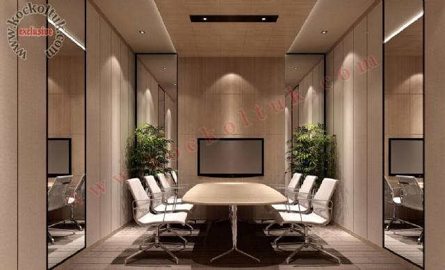 Ofis Konferans Salonu Masa Ve Sandalye Tasarımı
