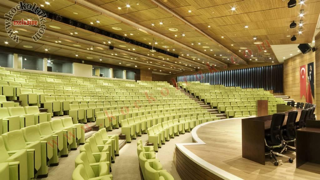 Konferans Salonu Tasarımı Koltuklar Mobilyalar