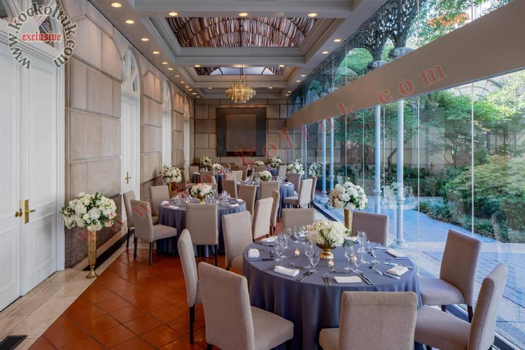 Otel Restoran Tasarımı Lüks Otel Mobilyaları