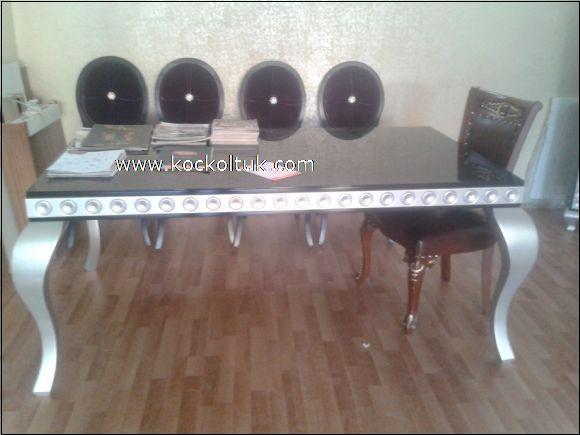 gümüş ayak masa