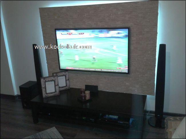 ORGANİK TAŞ DÖŞEME TV ÜNİTESİ