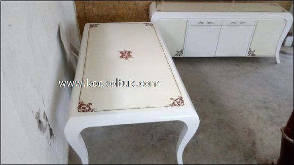 beyaz cila masa