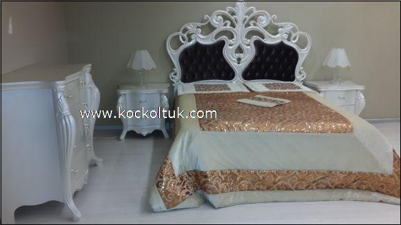 avangard oymalı yatak başlğı