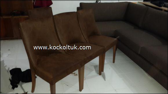 nubuk kumaş sandalye