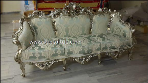 desenli kumaş klasik koltuk