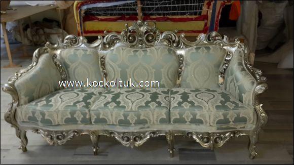 klasik oymalı koltuk takımı