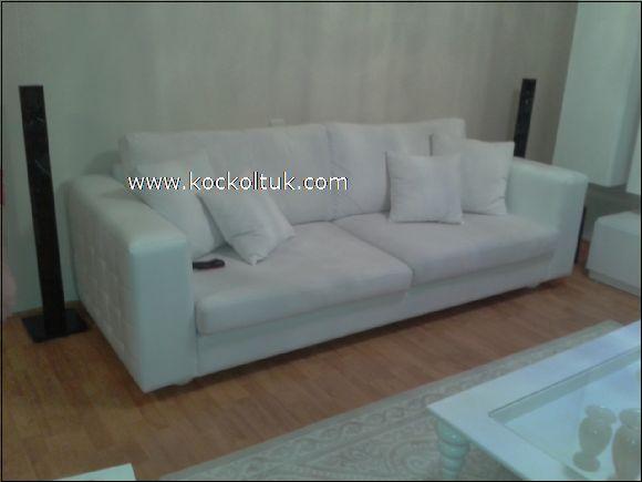 beyaz modern koltuk