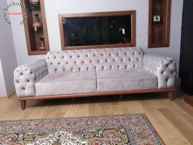 modern chester kanepe bej nubuk