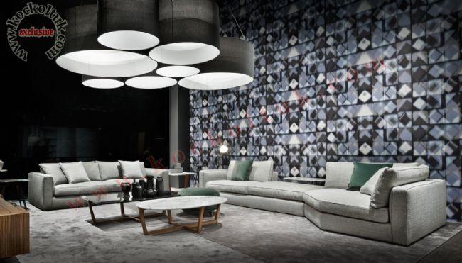 L Koltuk takımı özel tasarım yeni bir tarz dekoratif konforlu