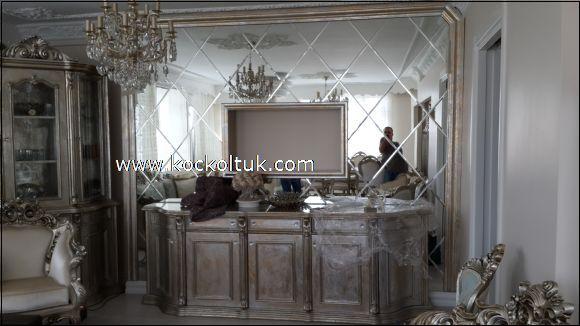 eskitme gümüş yemek odası takımı