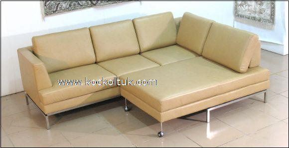 taba hakiki deri yataklı koltuk