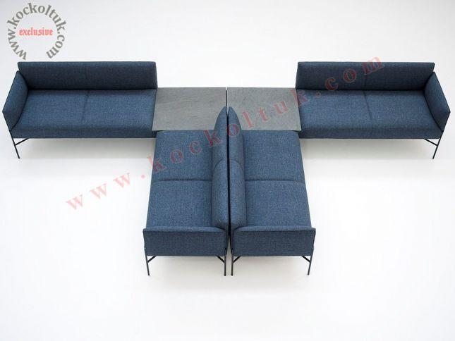 modern özel tasarım lobi bekleme salonu koltukları