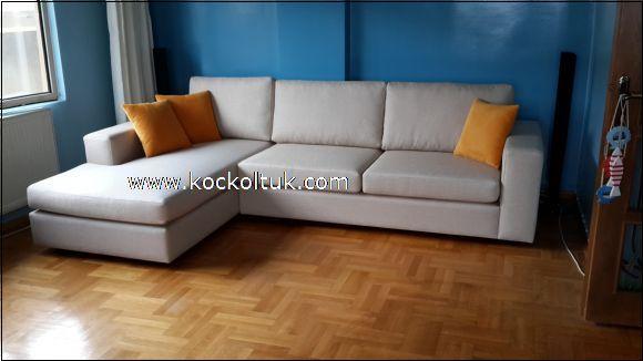 keten kumaş modern koltuk