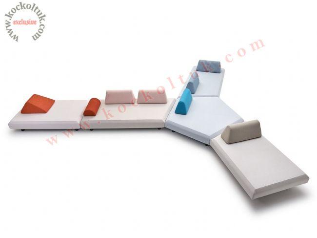 Bekleme Salonu Koltuk Dekorasyonu Özel Tasarım Lobi Koltukları