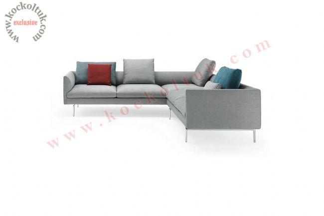 Dekoratif modern rahat konforlu köşe koltuk takımı