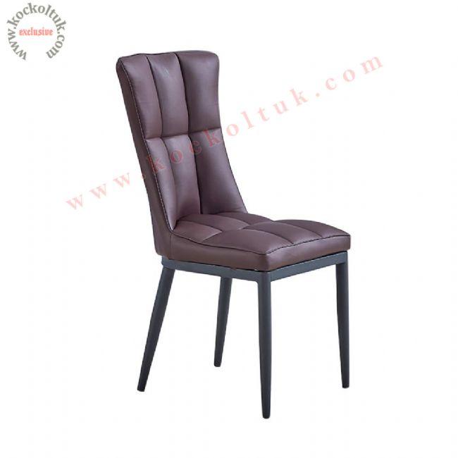 Deri Sandalye Modeli Modern