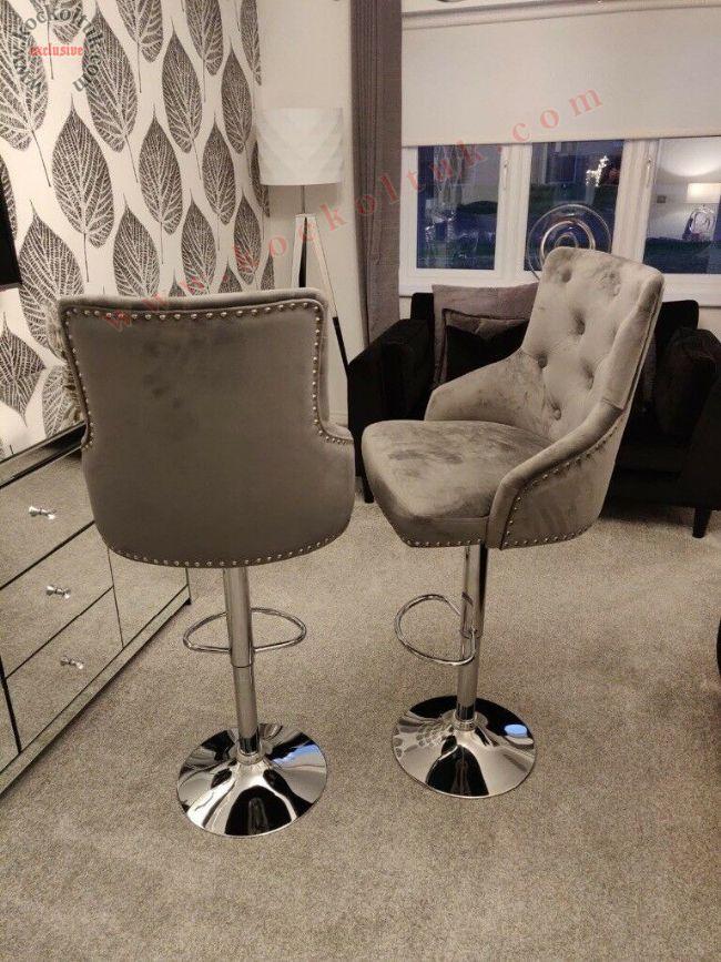 Döneli Yüksek Bar Sandalyesi Avangart Model