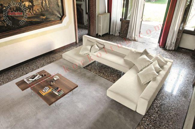 Modern Salon Oturma Odası köşe koltuk takımı