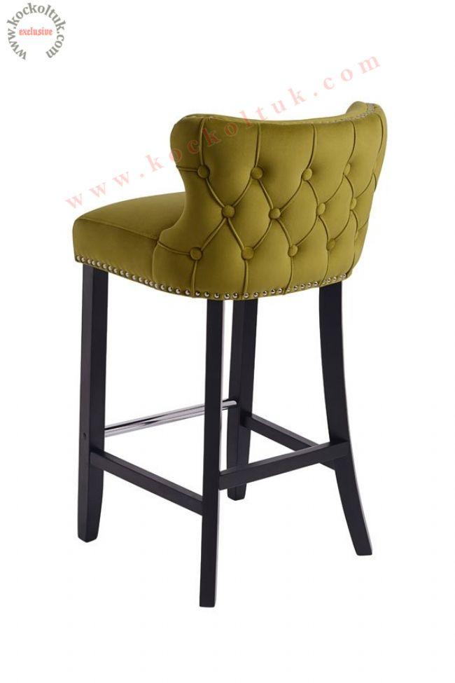 Nubuk Bar Sandalyesi Yüksek Sandalye Modelleri