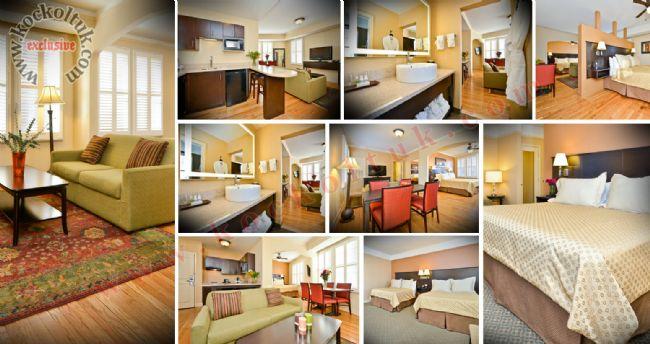 Otel Odası Dekorasyonu Koltuk Takımı Kanepe Masa Sandalye